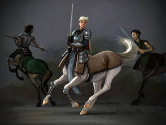 Chevalier by liminalbean