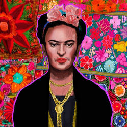 Frida-kahlo by redrumfru