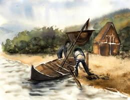 going fishing by JoanLlado