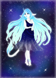 Cosmic Remnant OC - Nyati by Raben-Katze