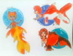 cheap point Cute Mermay Goldfish Adopts! [1 LEFT] by Raben-Katze