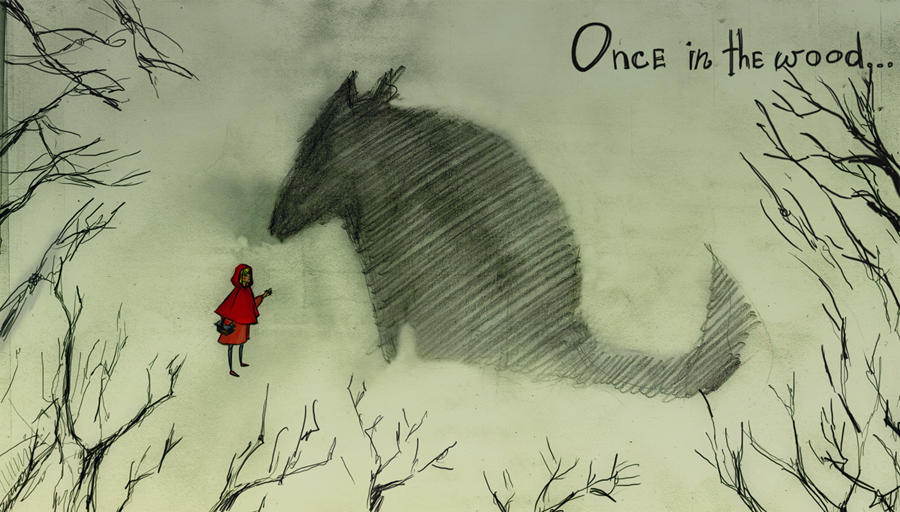 Little Red Riding Hood by DiaOctopus