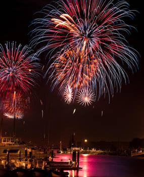 San Francisco, Fireworks by alierturk