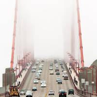 San Francisco, Golden Gate by alierturk