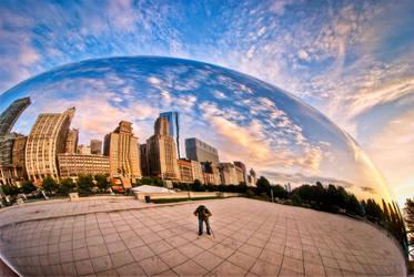 Chicago, The Bean X by alierturk