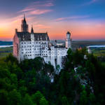 Bavaria, Castle Neuschwanstein by alierturk