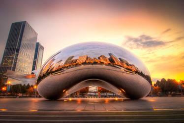 Chicago Bean by alierturk