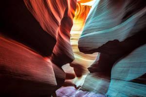 Face to face, Antelope Canyon, Arizona by alierturk
