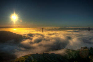Swirl of the fog, San Francisco by alierturk