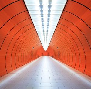 Munich, Marienplatz convergence by alierturk