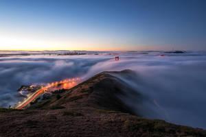 San Francisco, Golden Gate embedded by alierturk