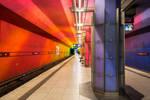Munich, Candidplatz waiting U Bahn by alierturk