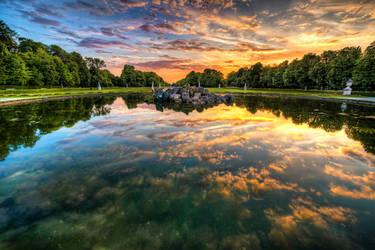 Munich, Nymphenburger Schloss Garden by alierturk