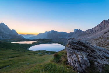 Tri Cime, twilight by alierturk