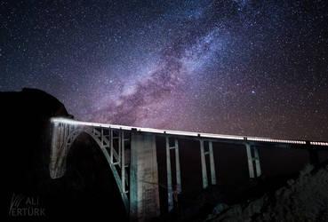 Big Sur, Glory of a bridge by alierturk
