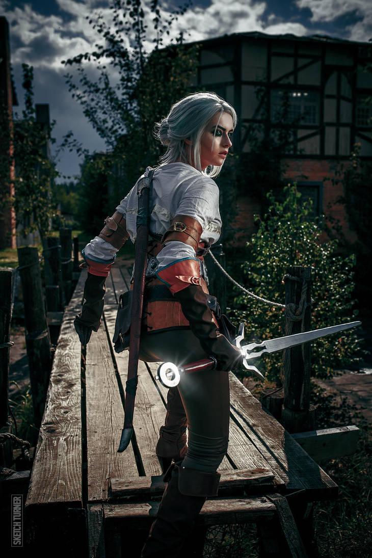 Witcher 3: Wild Hunt (Ciri) by Shinkarchuk
