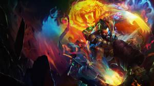 Spirit Guard Udyr Fusion [Desktop Background] by Jp-3