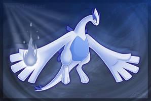 Lugia's Silver Soul by Articuno