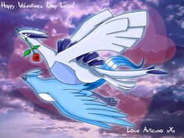 Happy Valentine's Day Lugia by Articuno