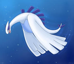 Lugia.. by Articuno