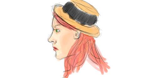 Casual Redhead by MissOddity