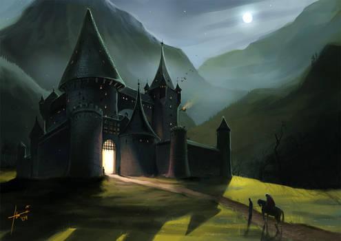 The Dark Castle... by Izaskun
