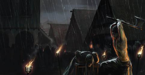 The last Hangmen - Coverart by Izaskun
