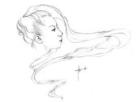 hair like air by Izaskun