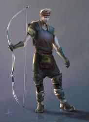 Scout Archer by Izaskun