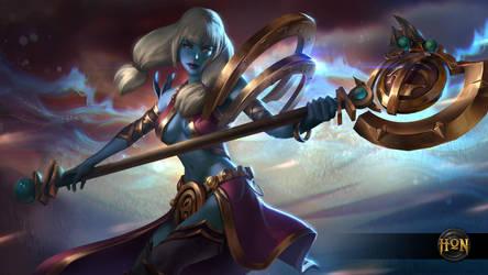 Heroes of Newerth - Savage Mace Chronos (Base) by Izaskun