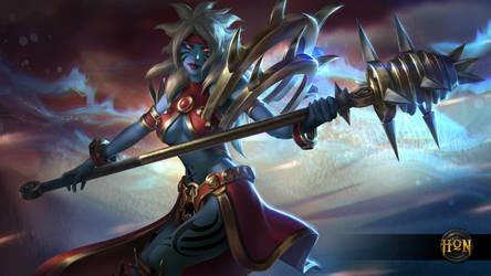 Heroes of Newerth - Savage Mace Chronos (Advanced) by Izaskun