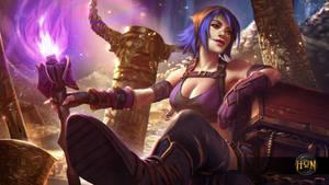 Heroes of Newerth - Treasure Hunter Hag by Izaskun