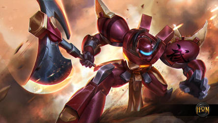Heroes of Newerth - Savior Legionnaire by Izaskun