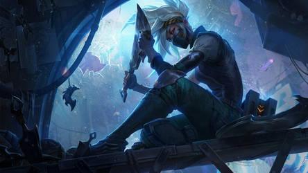 Silverfang Akali - League of Legends by Izaskun