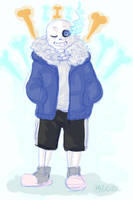 Skeleman Sans by Moona-chann