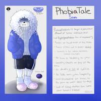 Undertale AU: Phobiatale by Moona-chann