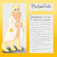 Undertale AU: Phobiatale: Alphys by Moona-chann