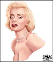 2016  Marilyn Monroe by xeracx