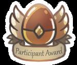 PARTICIPANT AWARD by Foxeaf
