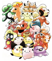 Pokemon Beta 1997 by Foxeaf