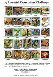 25 Essential Expressions (Aura) by Foxeaf