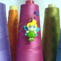 chibi tinkerbell by strictlyhandmade