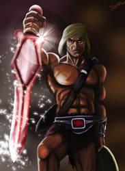 He-man by garnufiax