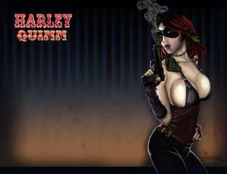 HarleyQuinn by garnufiax