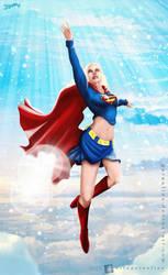 Supergirl-II by garnufiax