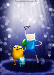 Adventure Time by garnufiax