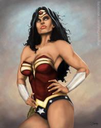 Wonder-woman by garnufiax