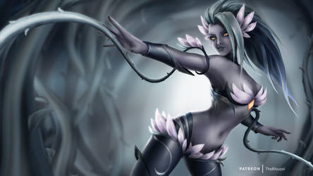 Death Blossom Zyra by bloupsi
