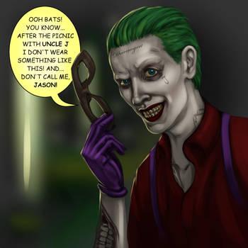 Jason Todd is the Joker by jim00