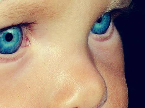 blue eyes by rofy